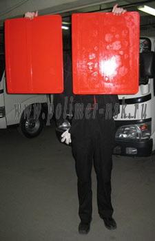 Брызговик универсальный для грузовых автомобилей FREDLINER и т.п. 500х600 мм
