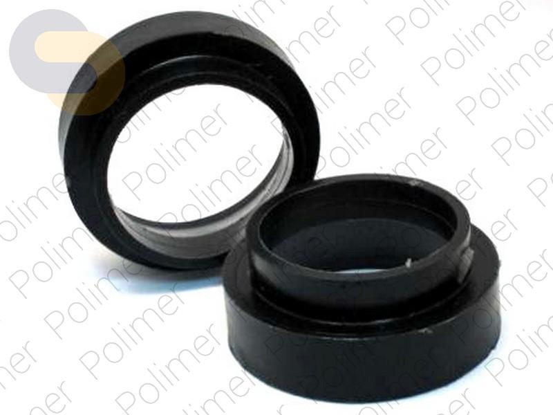 Проставки увеличения клиренса задних пружин TOYOTA нижние - полиуретан + 30 мм