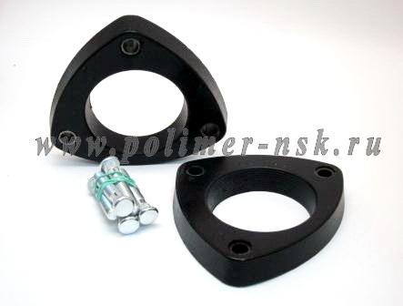 Проставки увеличения клиренса задних стоек TOYOTA - полиуретан 15 мм