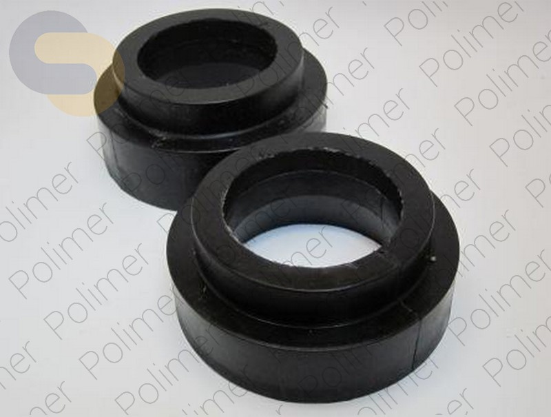 Проставки увеличения клиренса задних пружин MITSUBISHI - полиуретан + 30 мм