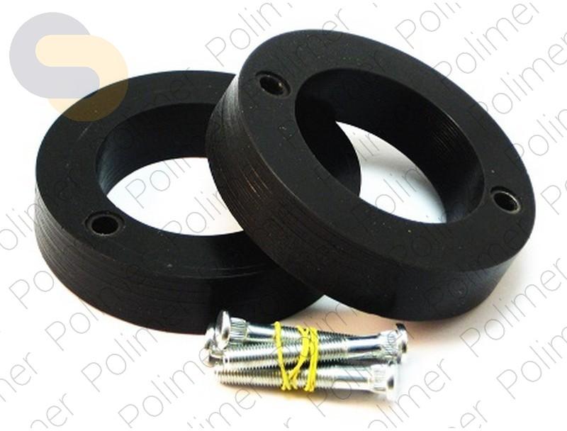 Проставки увеличения клиренса задних стоек MITSUBISHI - полиуретан 30 мм