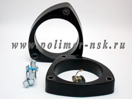 Проставки увеличения клиренса опор передних стоек 30 мм MITSUBISHI