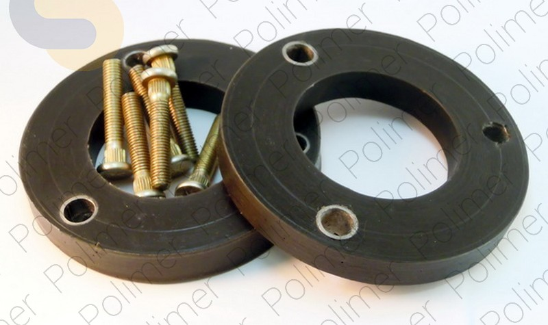 Комплект проставок опор передних стоек 15 мм