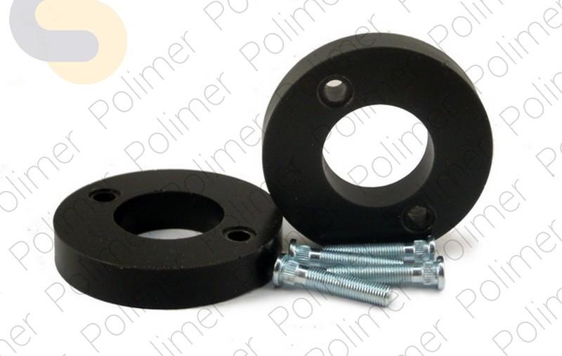 Проставки увеличения клиренса задних стоек HONDA - полиуретан 20 мм
