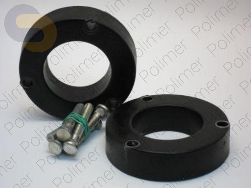 Проставки увеличения клиренса задних стоек HONDA - полиуретан 30 мм