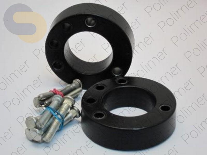 Проставки увеличения клиренса передних стоек HONDA - полиуретан 30 мм