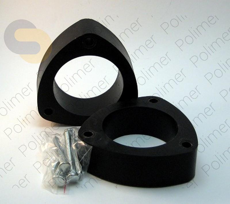 Проставки увеличения клиренса задних стоек SUBARU - полиуретан 40 мм