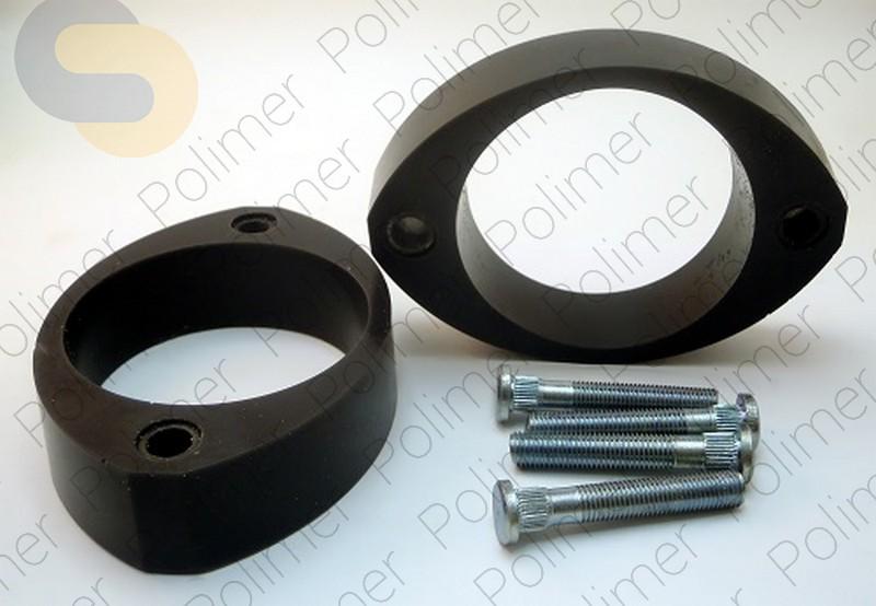 Проставки увеличения клиренса передних стоек SUBARU - полиуретан 30 мм