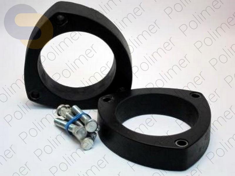 Проставки увеличения клиренса передних стоек LAND ROVER - полиуретан 30 мм