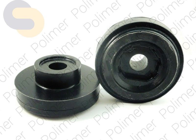 Проставки увеличения клиренса задних пружин MERCEDES нижние - полиуретан + 20 мм