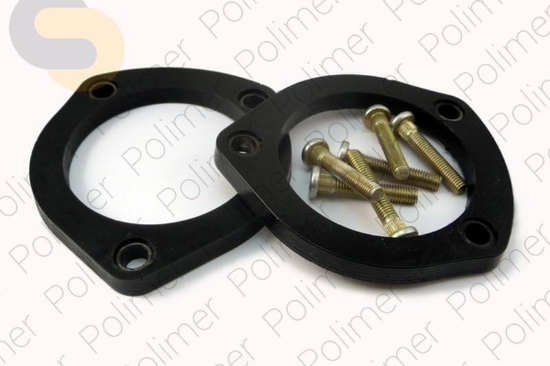Проставки увеличения клиренса передних стоек MERCEDES - полиуретан 10 мм
