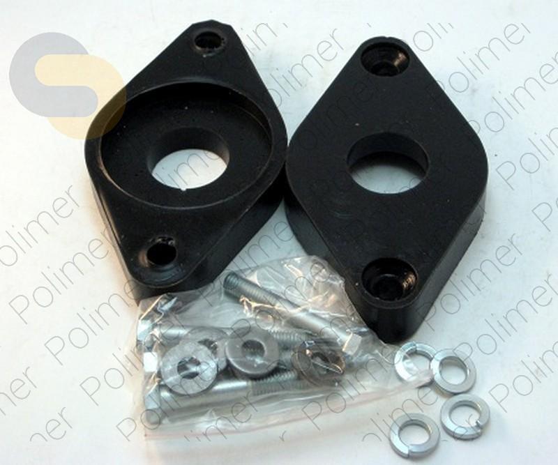 Проставки увеличения клиренса опор задних амортизаторов 20 мм AUDI