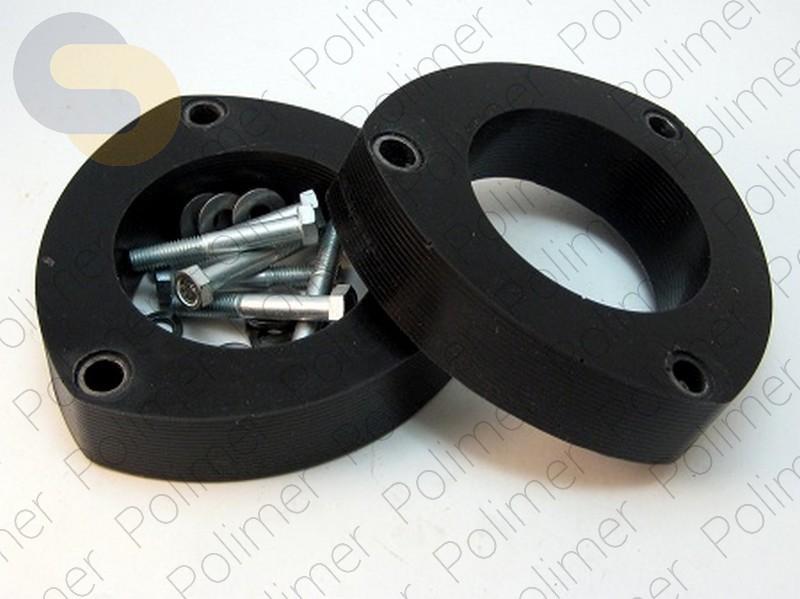Проставки увеличения клиренса передних стоек AUDI - полиуретан 30 мм
