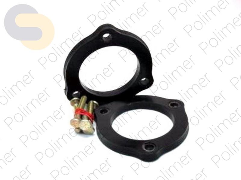 Проставки увеличения клиренса передних стоек BMW - полиуретан 10 мм