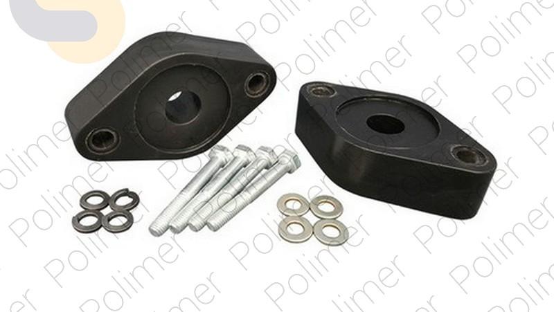 Проставки увеличения клиренса опор задних амортизаторов 30 мм FORD