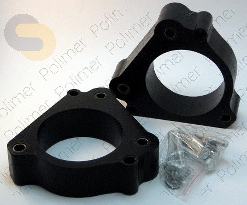 Проставки увеличения клиренса передних стоек FIAT - полиуретан 40 мм