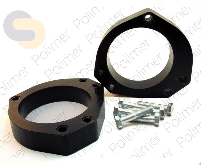 Проставки увеличения клиренса передних стоек FIAT - полиуретан 30 мм
