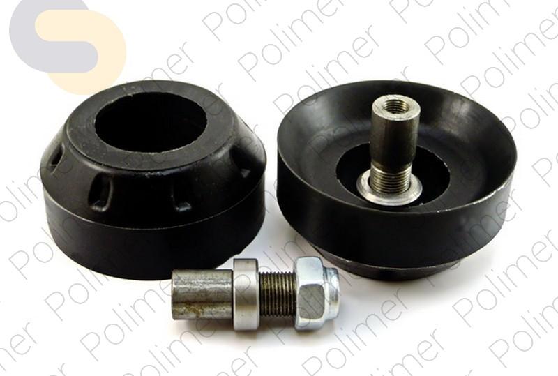 Проставки увеличения клиренса передних стоек FIAT на опору - полиуретан 30 мм
