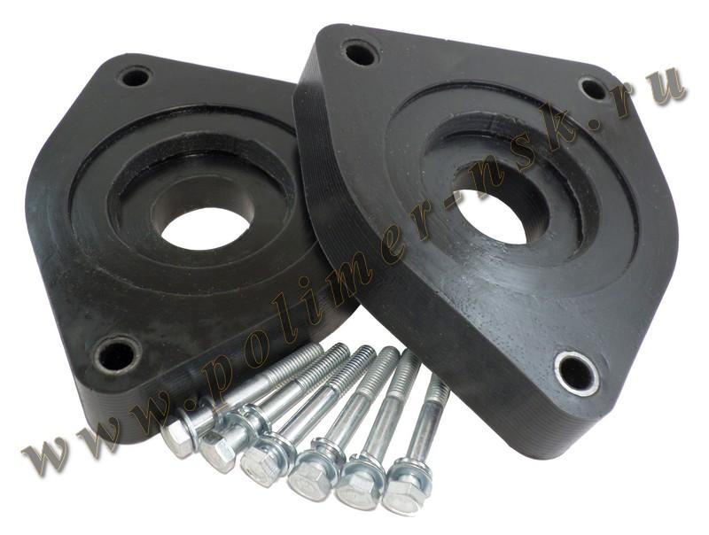 Проставки увеличения клиренса передних стоек RENAULT - полиуретан 30 мм