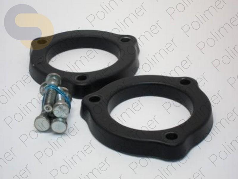 Проставки увеличения клиренса передних стоек KIA - полиуретан 15 мм