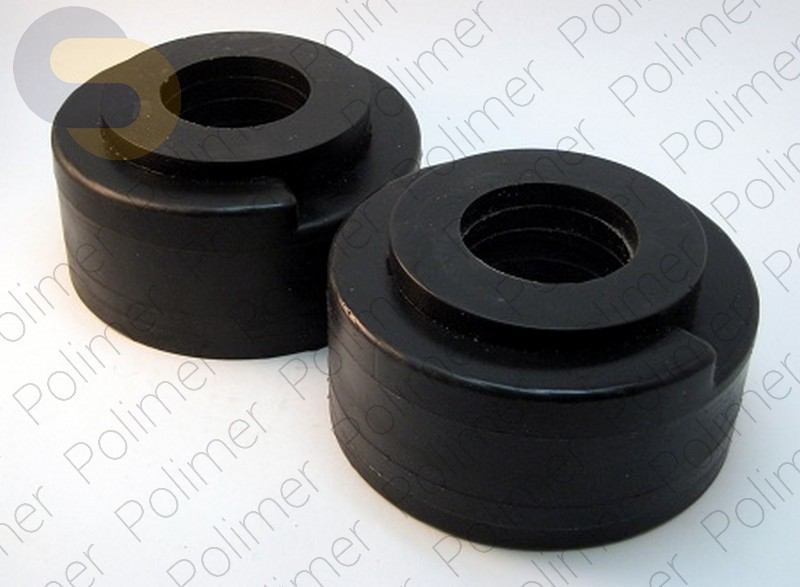 Проставки увеличения клиренса задних пружин KIA - полиуретан + 50 мм