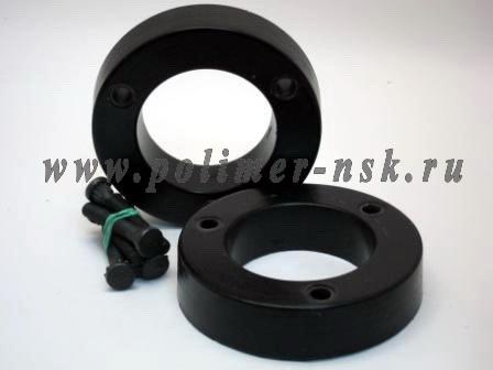 Проставки увеличения клиренса передних стоек KIA - полиуретан 30 мм