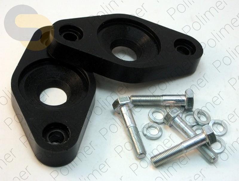 Проставки увеличения клиренса опор задних амортизаторов 20 мм KIA