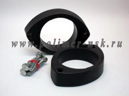 Проставки увеличения клиренса передних стоек DAEWOO - полиуретан 30 мм