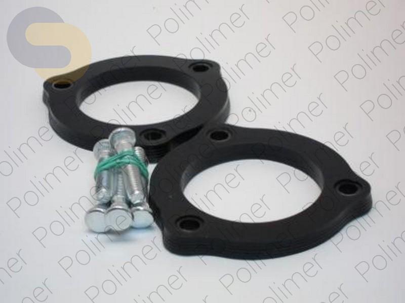 Проставки увеличения клиренса передних стоек HYUNDAI - полиуретан 10 мм