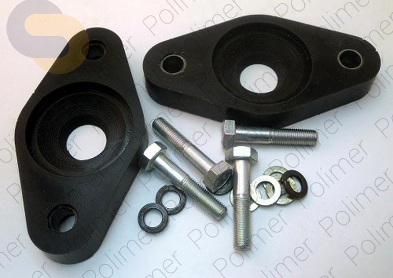 Проставки увеличения клиренса опор задних амортизаторов 20 мм HYUNDAI