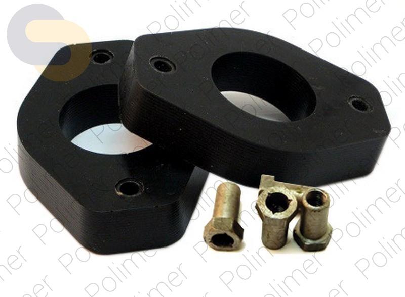Проставки увеличения клиренса задних стоек ГАЗ - полиуретан 30 мм