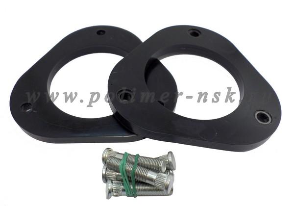 Проставки увеличения клиренса передних стоек LEXUS - полиуретан 10 мм