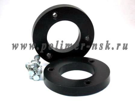 Проставки увеличения клиренса задних стоек LEXUS - полиуретан 20 мм