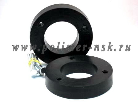 Проставки увеличения клиренса задних стоек LEXUS - полиуретан 30 мм