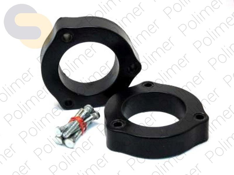 Проставки увеличения клиренса передних стоек LEXUS - полиуретан 30 мм