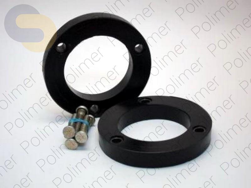 Проставки увеличения клиренса передних стоек LEXUS - полиуретан 20 мм