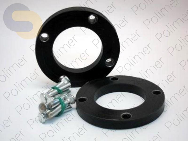 Проставки увеличения клиренса передних стоек LEXUS - полиуретан 15 мм