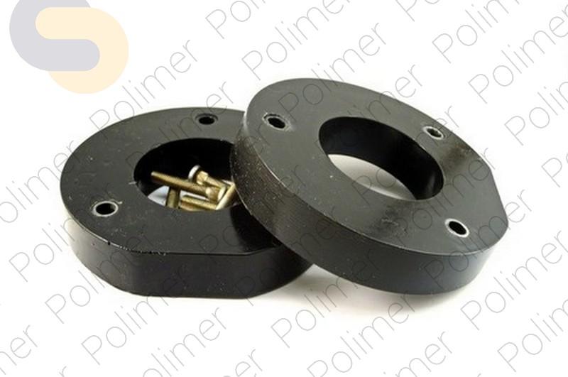 Проставки увеличения клиренса передних стоек CHEVROLET - полиуретан 30 мм
