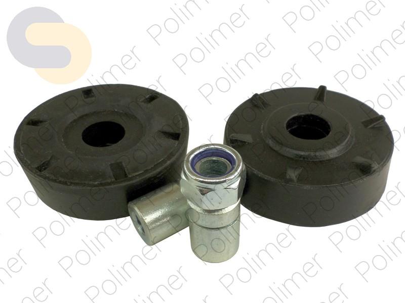 Проставки увеличения клиренса передних стоек CHEVROLET на опору - полиуретан 30 мм