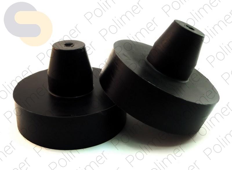 Проставки увеличения клиренса задних пружин CHEVROLET - полиуретан + 30 мм