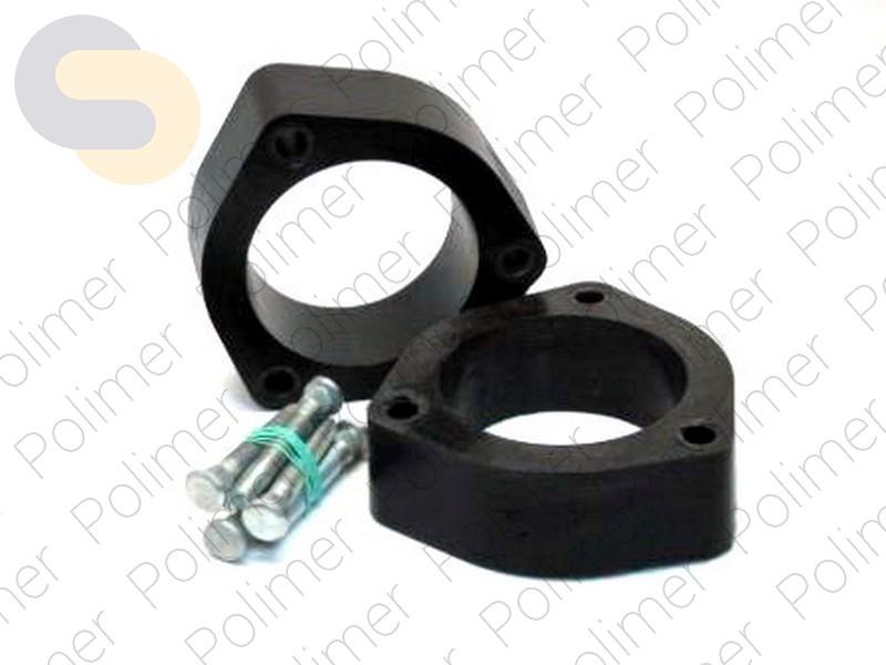 Проставки увеличения клиренса передних стоек CHEVROLET - полиуретан 40 мм
