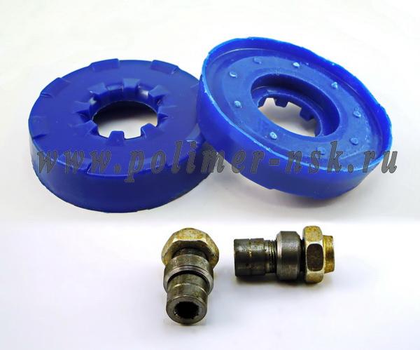Проставки увеличения клиренса передних стоек CHEVROLET на опору - полиуретан 20 мм
