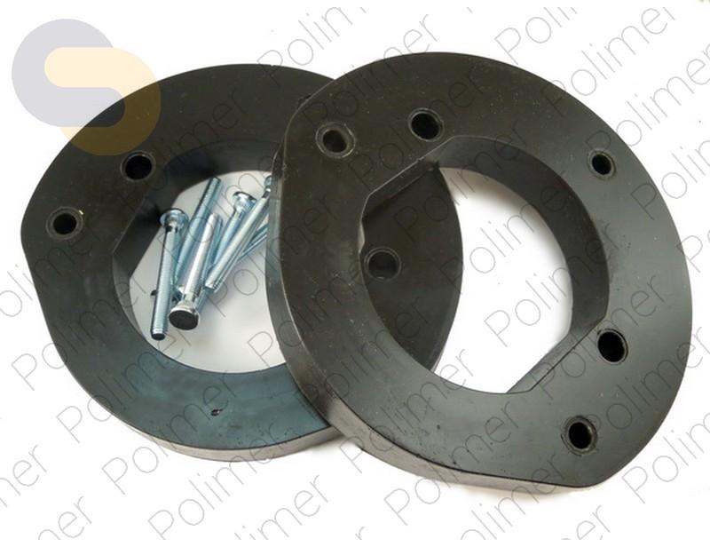 Проставки увеличения клиренса передних стоек DODGE - полиуретан 30 мм
