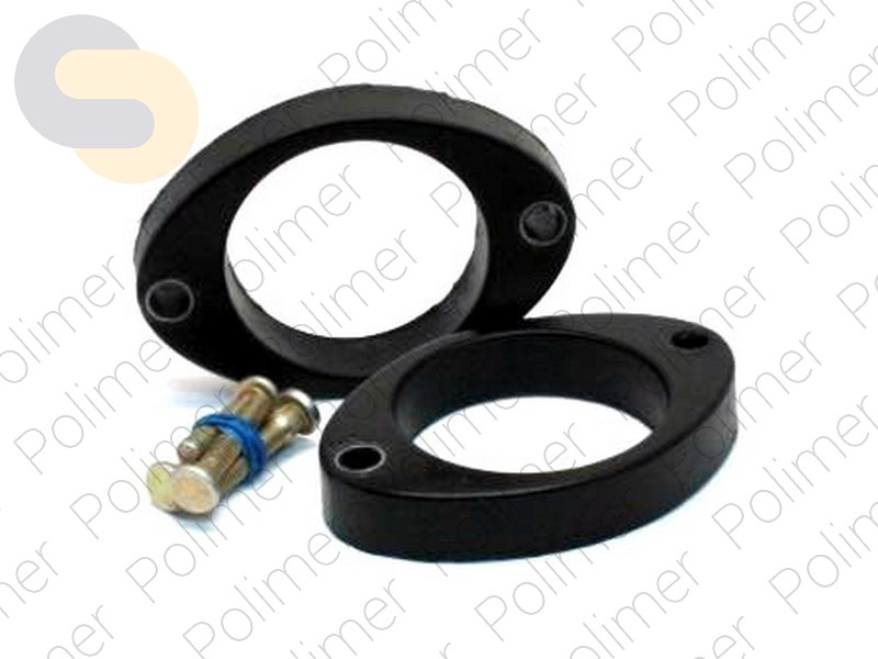 Проставки увеличения клиренса задних стоек DODGE - полиуретан 20 мм