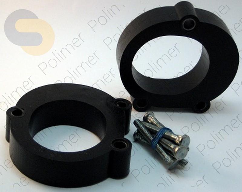 Проставки увеличения клиренса передних стоек PEUGEOT - полиуретан 30 мм