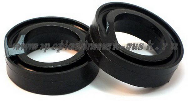 Проставки увеличения клиренса задних пружин LANCIA - полиуретан + 20 мм