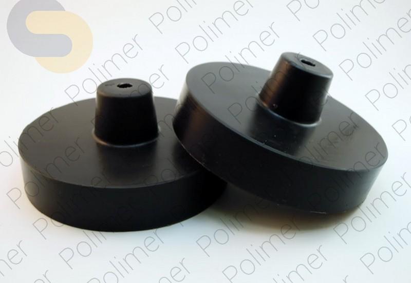 Проставки увеличения клиренса задних пружин SKODA - полиуретан 30 мм