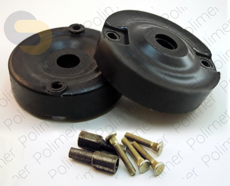 Проставки увеличения клиренса передних стоек SKODA - полиуретан 30 мм