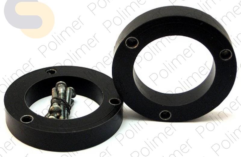 Проставки увеличения клиренса передних стоек INFINITI - полиуретан 25 мм