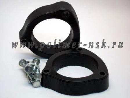 Проставки увеличения клиренса передних стоек INFINITI - полиуретан 30 мм